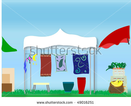 Open Air Market Stock Photos, Royalty.