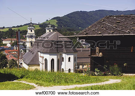 Stock Photography of Austria, Mondsee, Open.