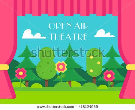 Open Air Theatre Stock Photos, Royalty.