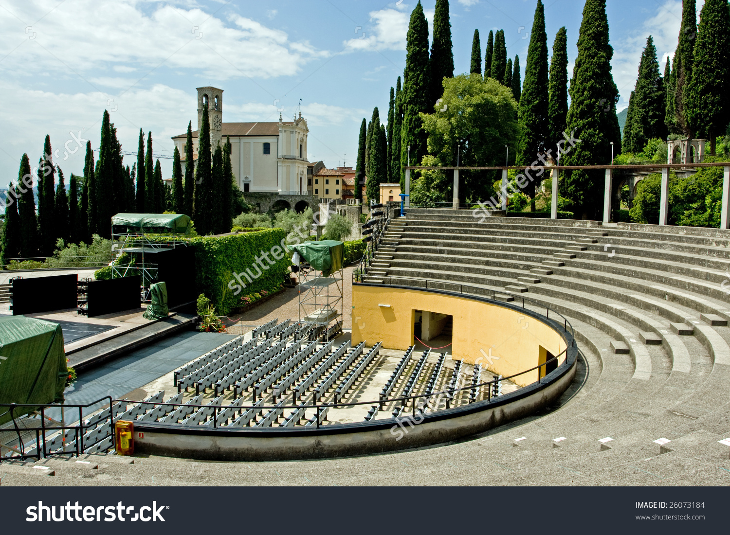 Open Air Theatre Stock Photo 26073184.