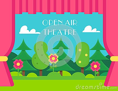 Open Air Theatre Stock Images.