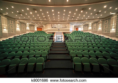 Stock Images of Interior and open front entrance in conference.