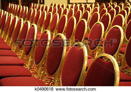 Pictures of Open Seating at an Auditorium k0490618.