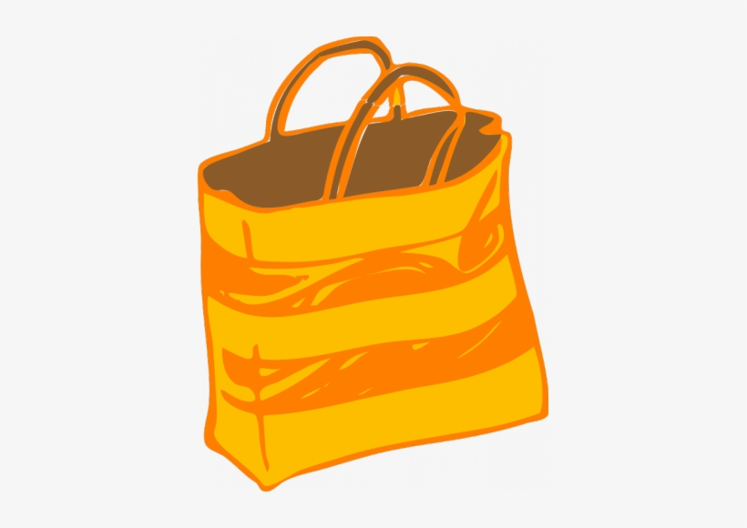 Beach Bag Vector Clipart.