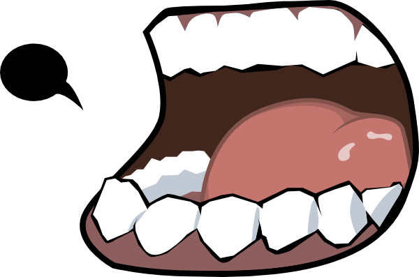 Cartoon Open Mouth.