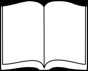 Open Book Clip Art at Clker.com.