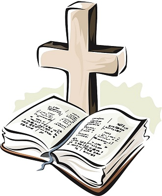 325 Open Bible free clipart.