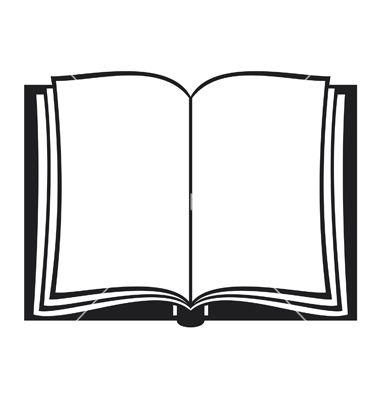 Open book vector by Tribaliumvs.