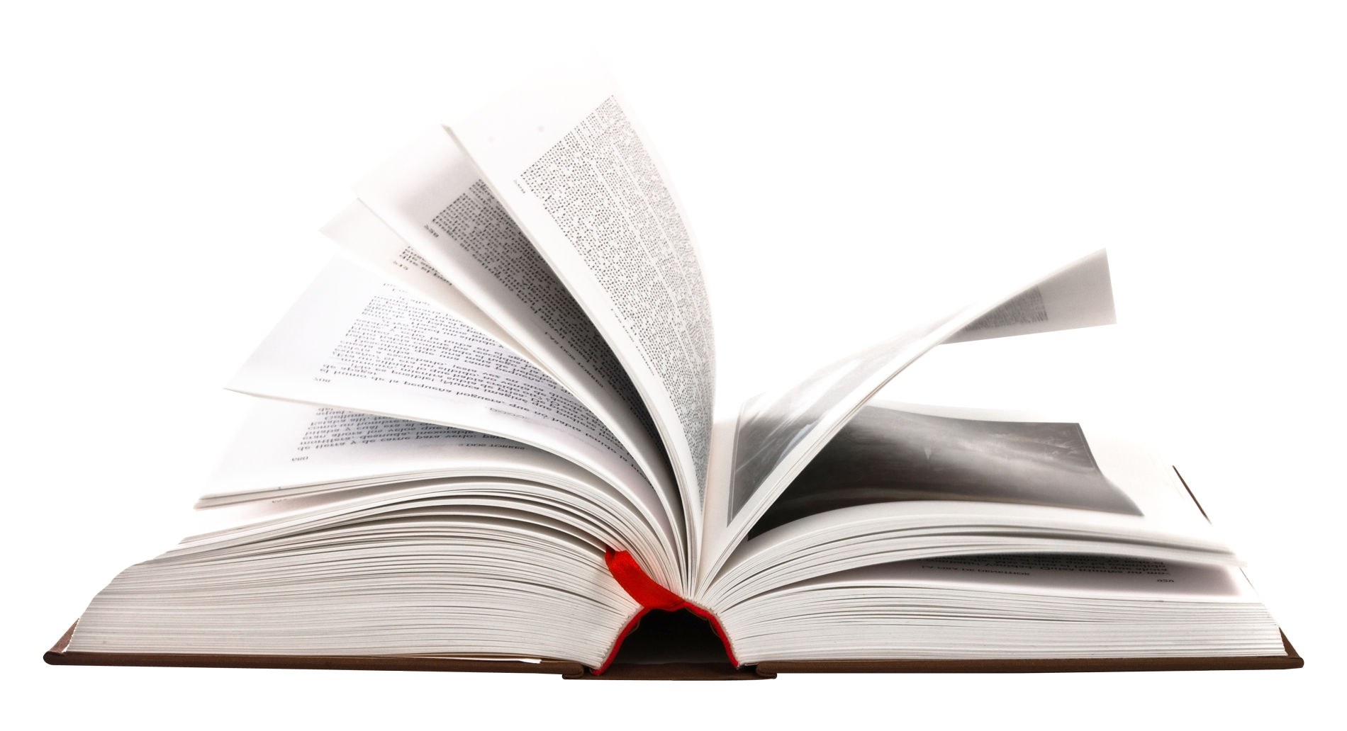 Open Book PNG Image.