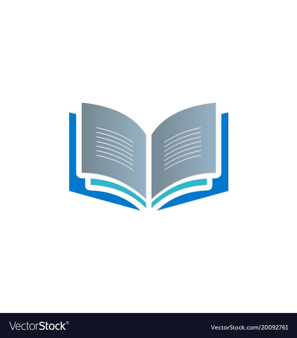 Open book knowledge read logo.