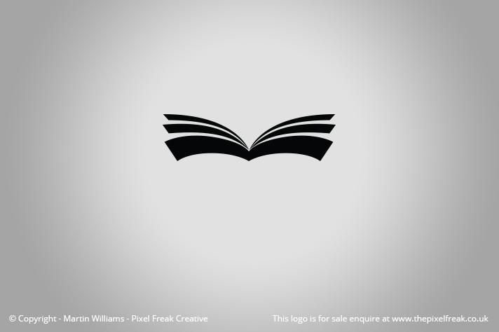 Open Book Logo *For Sale*.