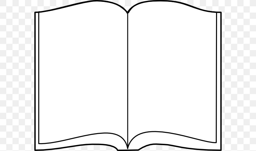 Hardcover Book Outline Clip Art, PNG, 600x482px, Hardcover.