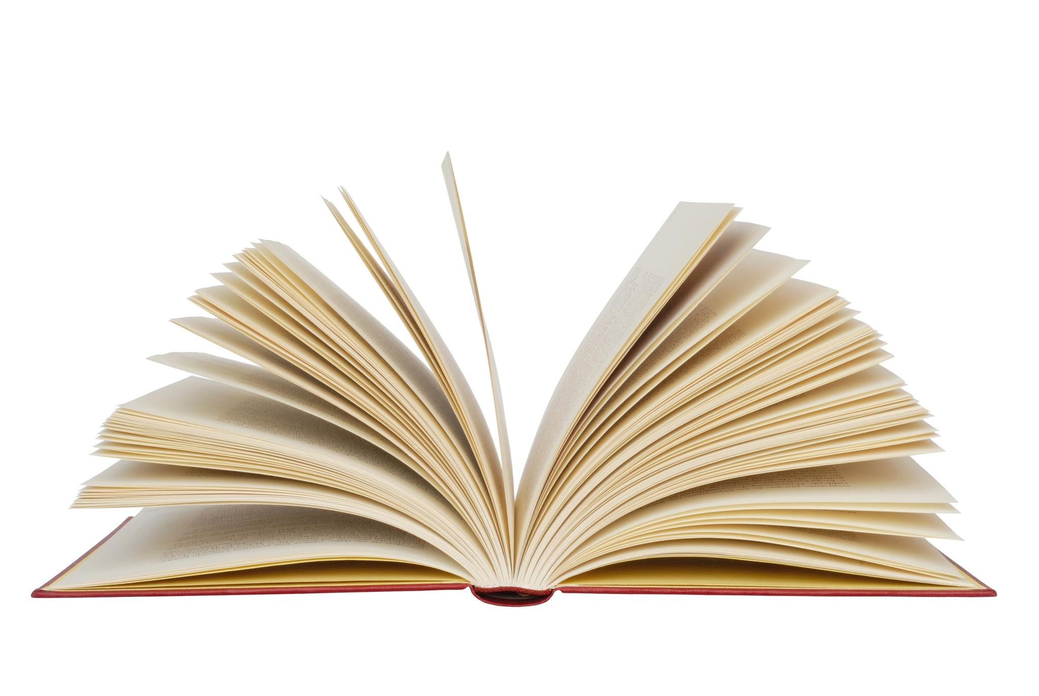 Picture Of Open Book.