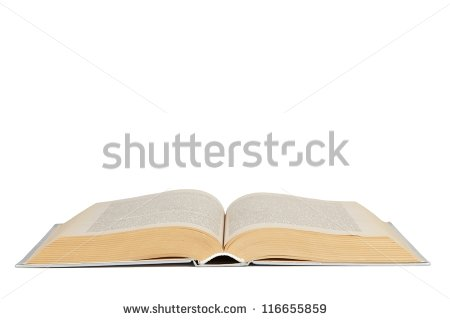 Open Book Stock Images, Royalty.