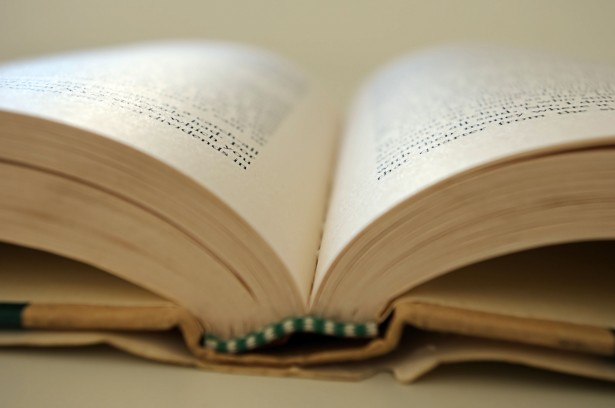 Open Book Free Stock Photo.