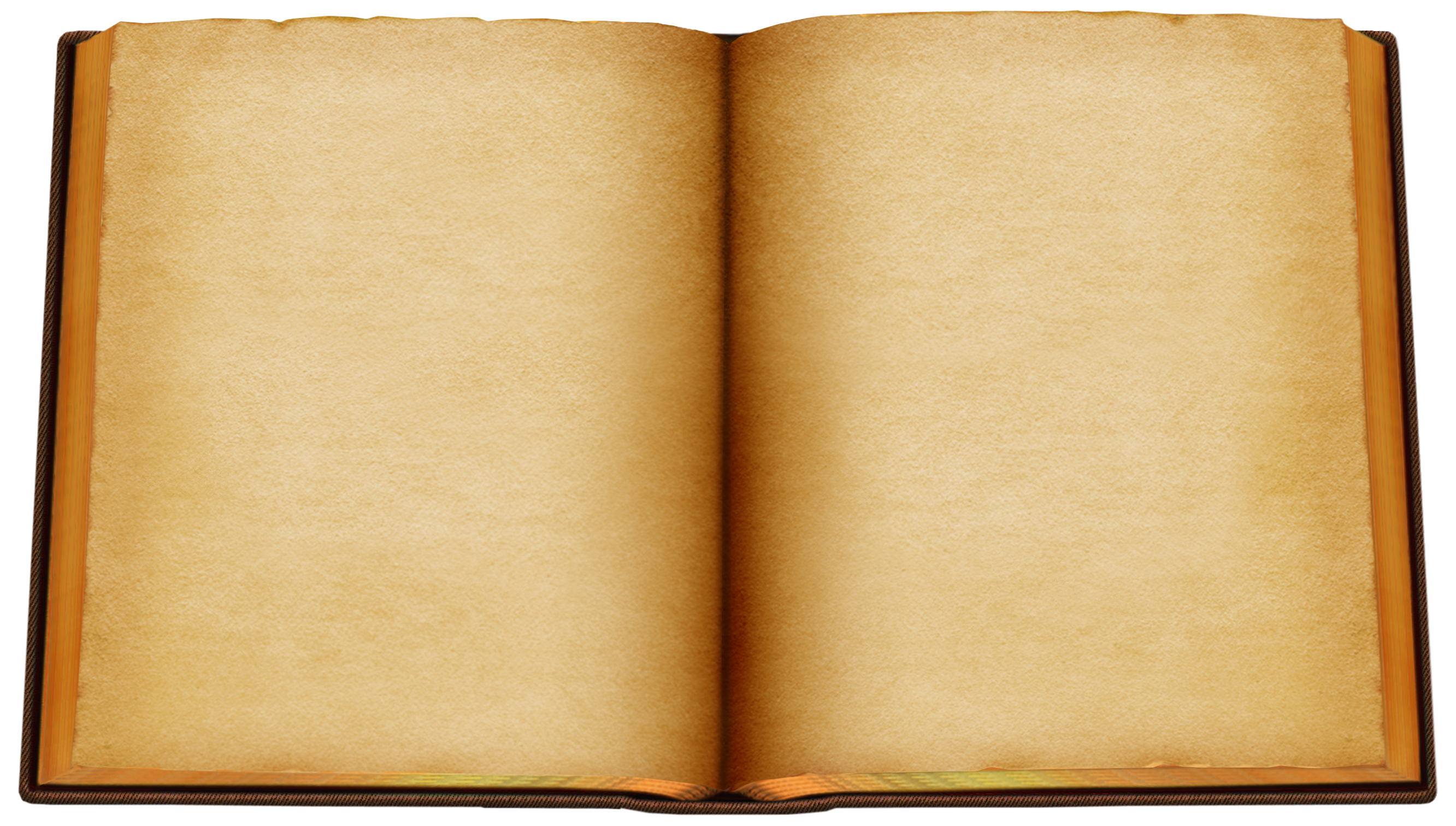 Old Open Book PNG Clipart.