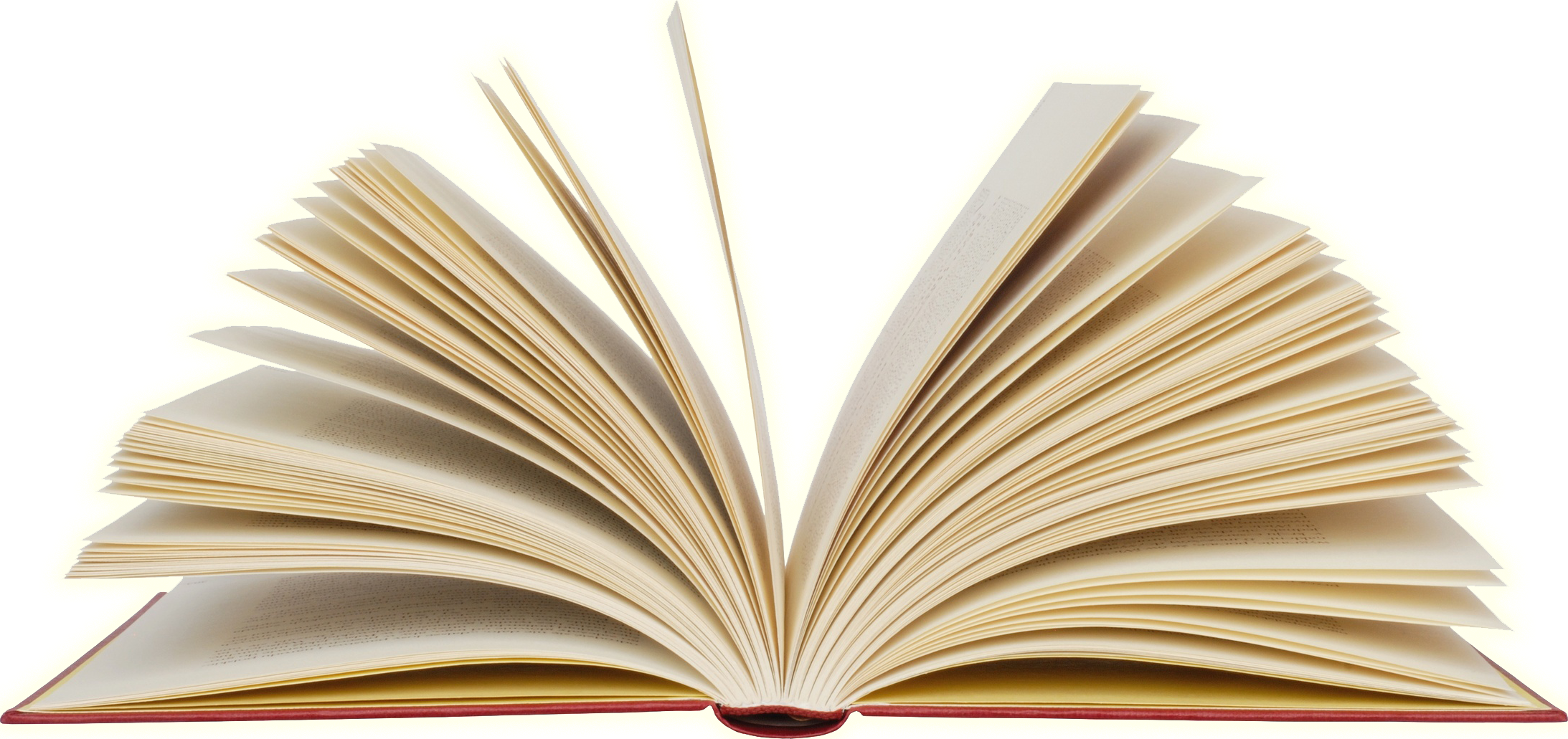 Open Book Transparent Background PNG.