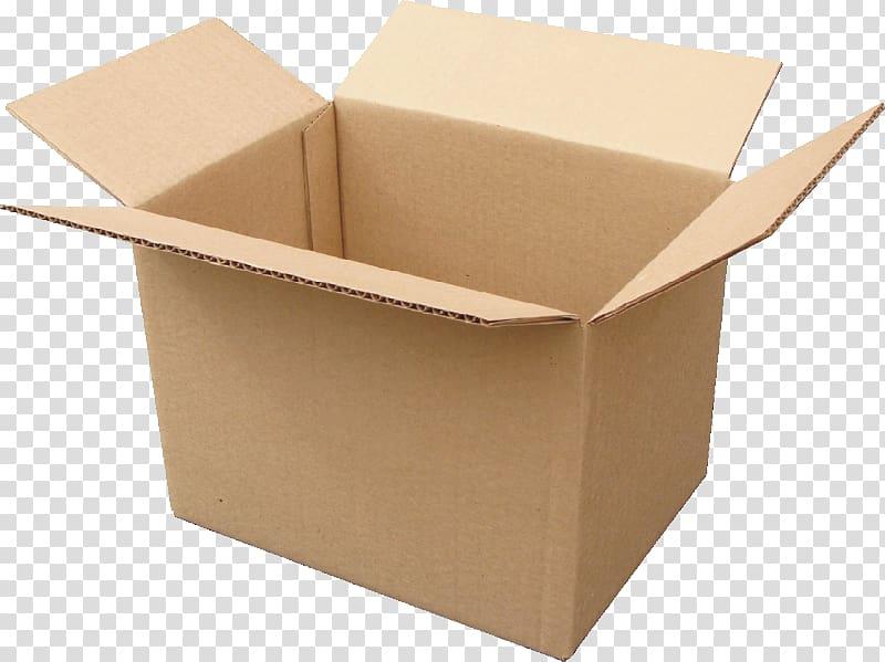 Opened brown cardboard box, Cardboard box Relocation Fabrika.