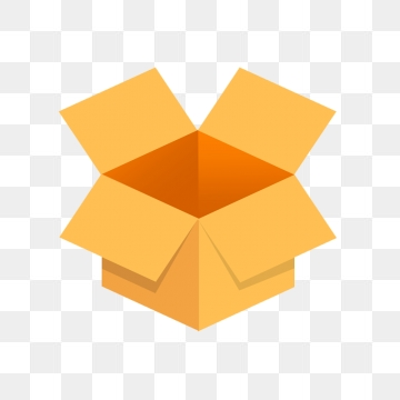 Open Box PNG Images.