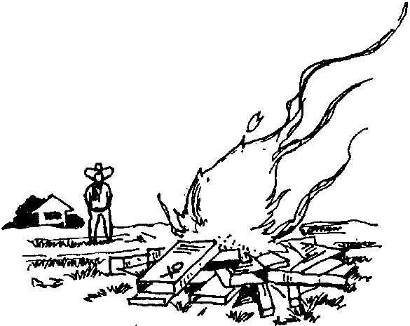 Burning water clipart.