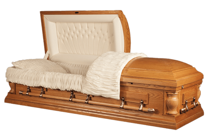 Open Coffin transparent PNG.