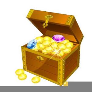 Open Treasure Chest Clipart Free.