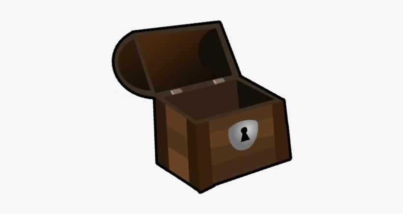 Treasure Chest Open.