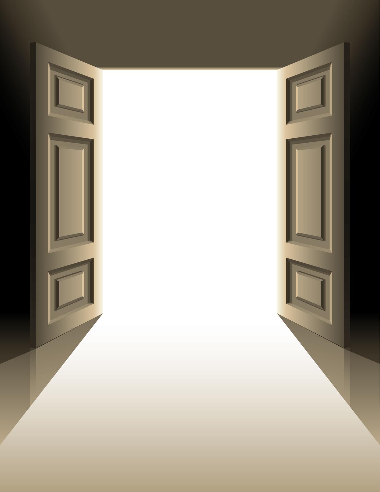 Church Doors Clipart & Church Door Clip Art Black And White.