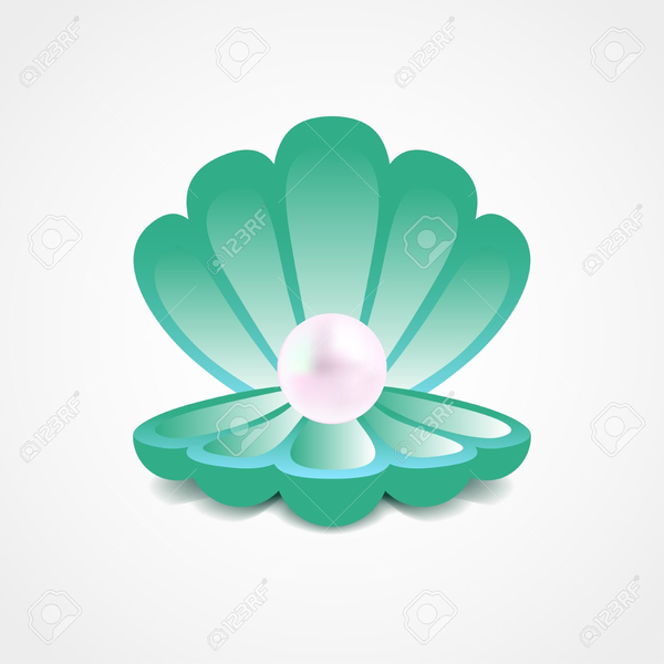 Clam Shell Clipart.