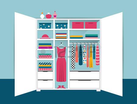 open closet clipart #4
