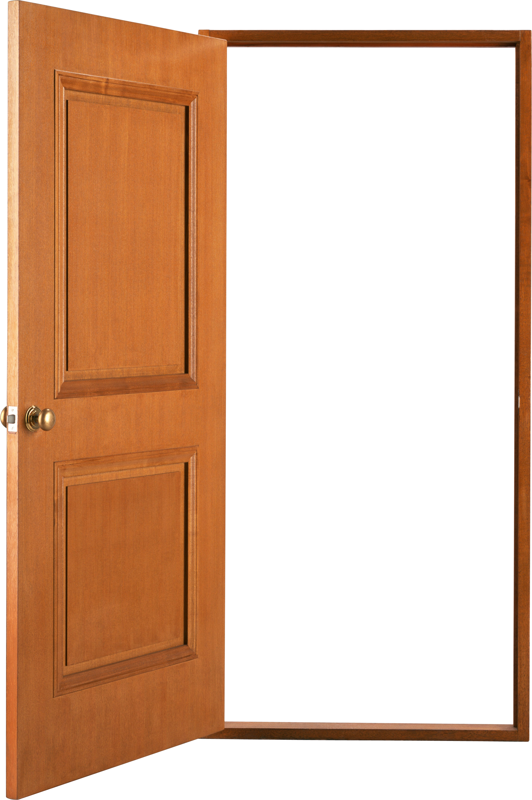 Wood Door Png.