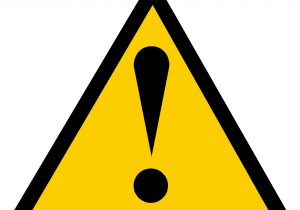 375 Caution free clipart.