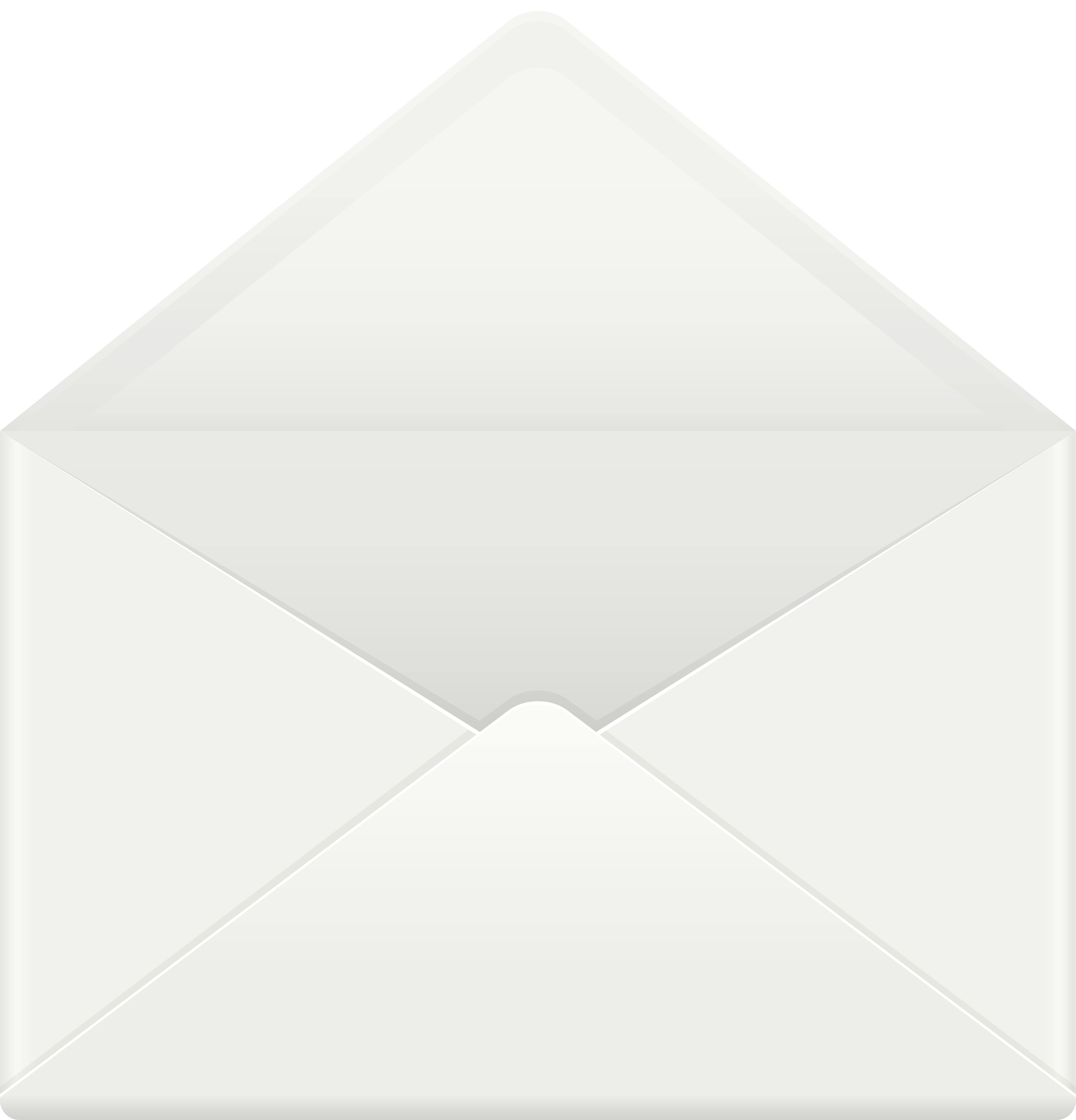 Open Envelope PNG Clip Art Image.