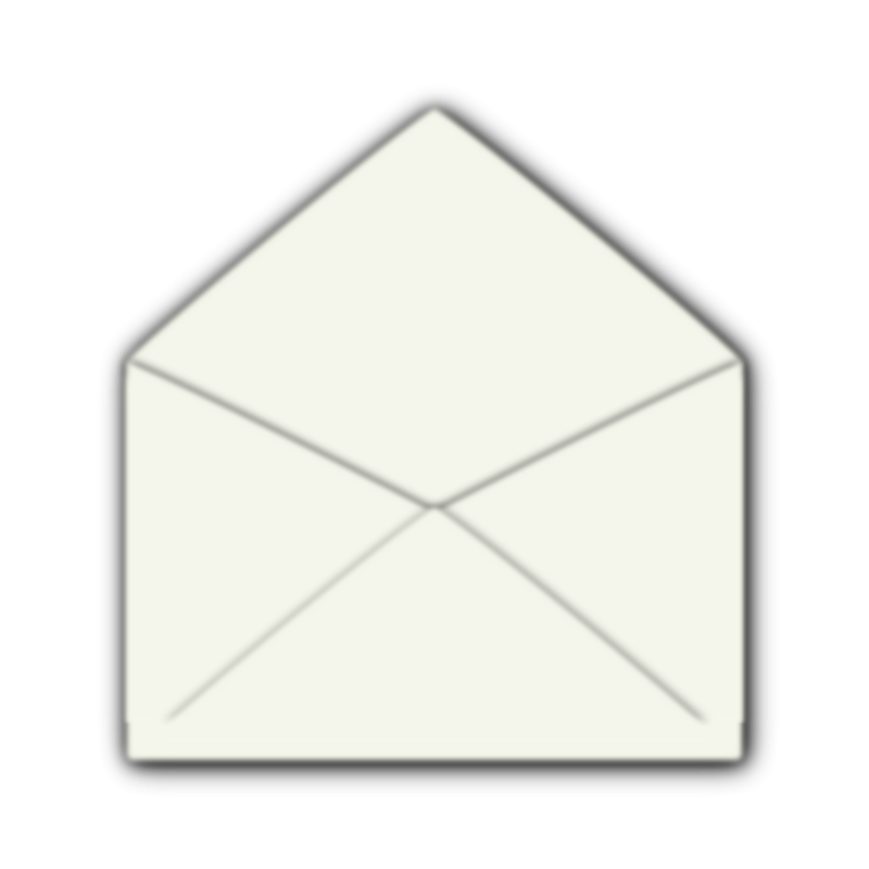 Free Clipart: Open Envelope.