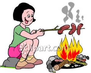 Fire clipart roasting clip art.