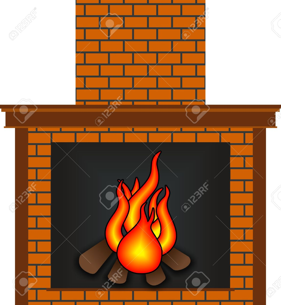 11,220 Fireplace Stock Vector Illustration And Royalty Free.