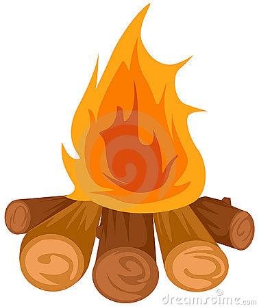 Clip art camp fire.