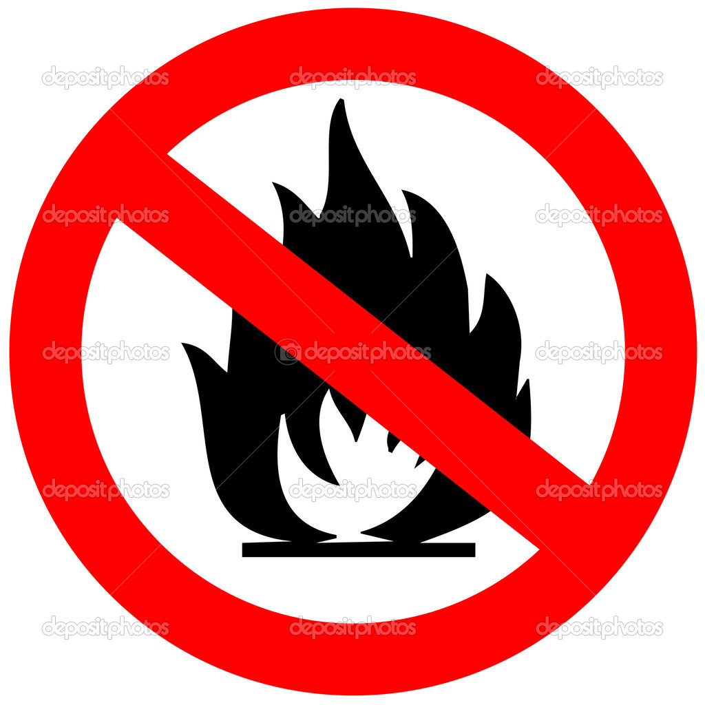 Showing post & media for Open flame safety symbol.