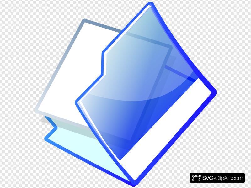 Open Folder Clip art, Icon and SVG.