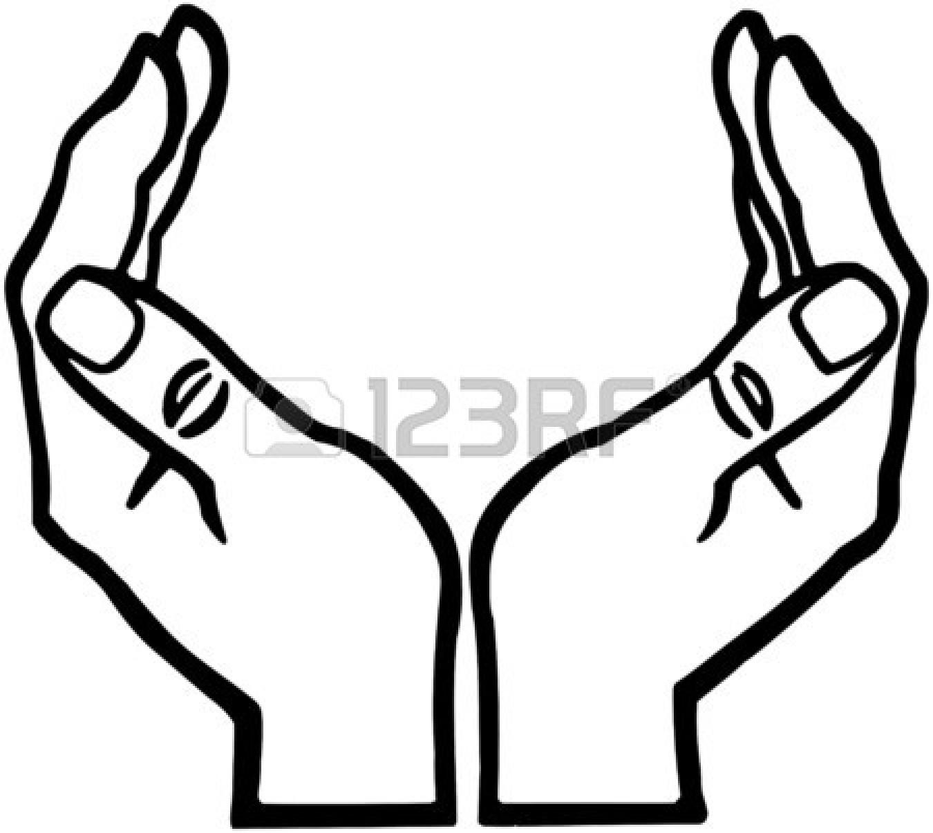 69+ Open Hands Clipart.