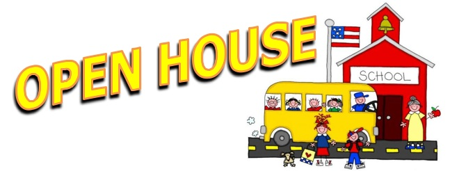 Free open house clipart.