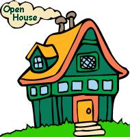 School Open House Clipart.