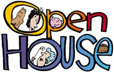 Open House Free Clipart.