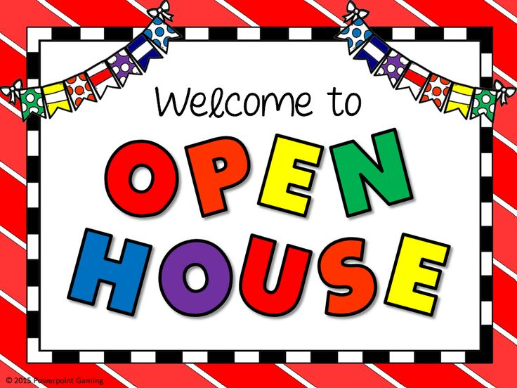 Open House Clip Art & Open House Clip Art Clip Art Images.