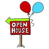 Open house Clip Art Royalty Free. 6,613 open house clipart vector.