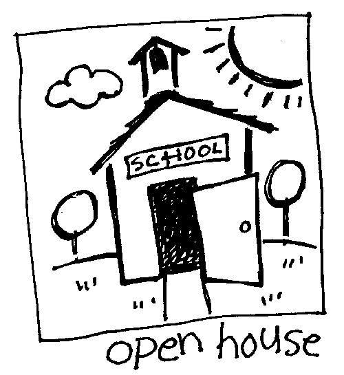 School Open House Clipart.