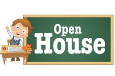 open house school clipart clipground school open house clip art free School Open House Invitation Samples