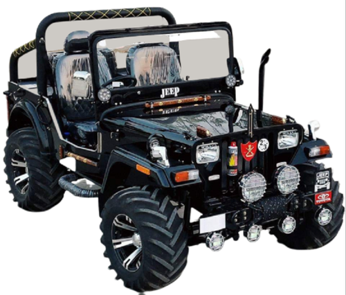 Open Modified Jeep.