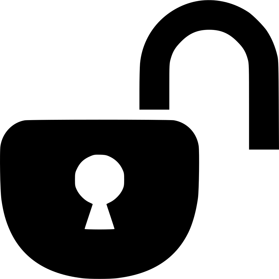 Open Lock Svg Png Icon Free Download (#573806.