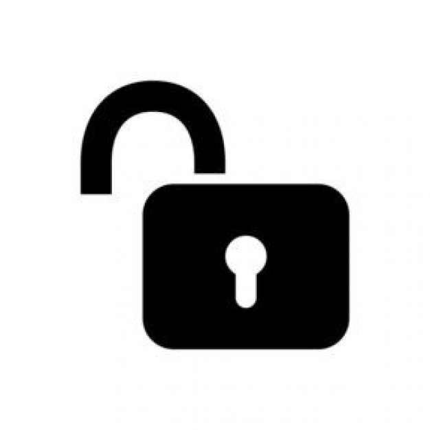 Download Free png pin Lock clipart open lock #1.
